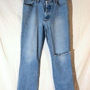 Tom of Finland Rare Stretch Denim Blue Jeans